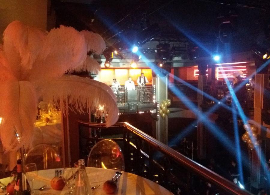Convention de lancement d'année avec soirée Gatsby