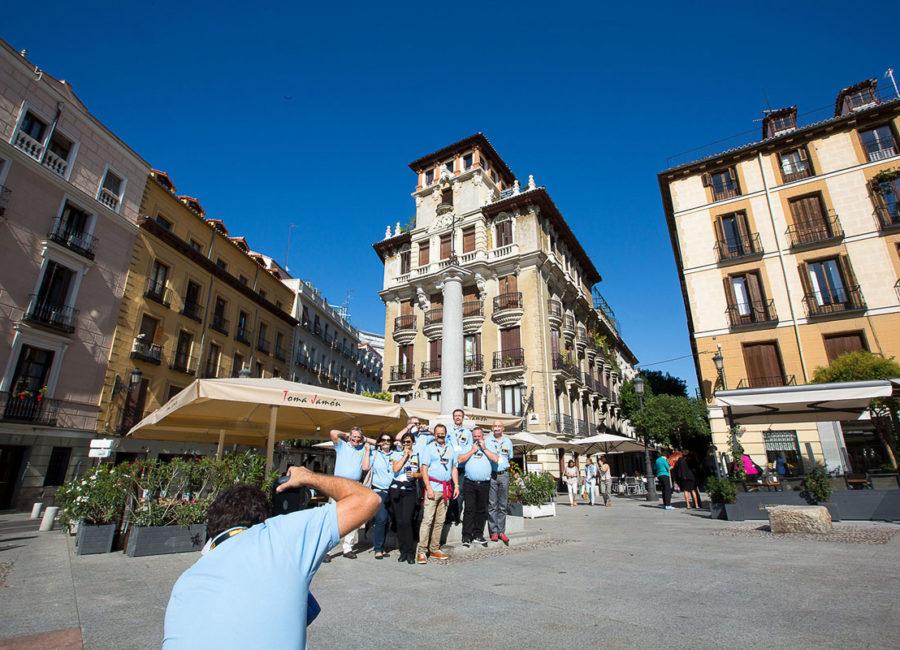 Rallye pédestre au cœur de Madrid