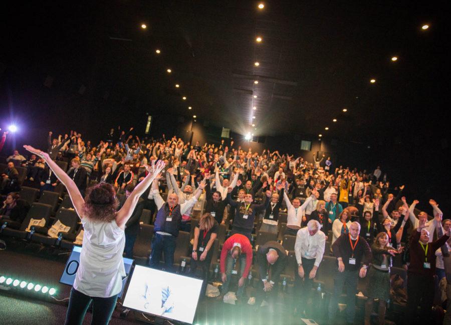 Réveil musculaire avant convention de 400 personnes